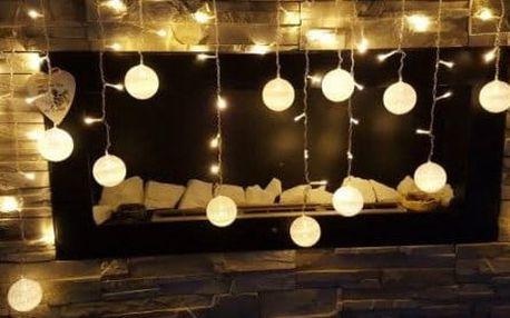 LED vánoční koule