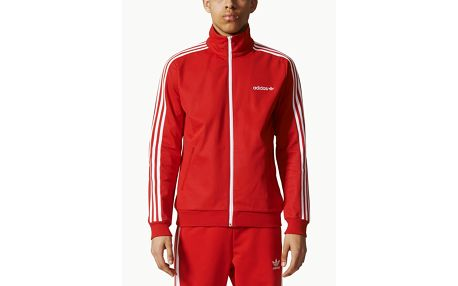 Mikina adidas Originals BB TRACKTOP Červená
