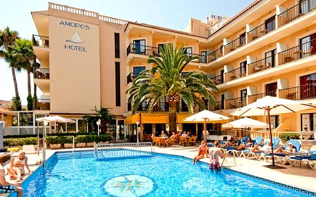 Hotel Amoros, Mallorca, Španělsko, letecky, snídaně v ceně