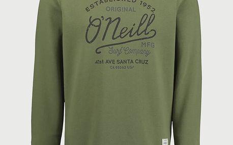 Mikina O´Neill LM Type Crew Sweatshirt Zelená