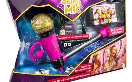 Selfie mikrofon ADC Blackfire růžový růžový + Doprava zdarma