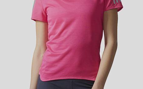 Tričko adidas Performance RS SS TEE W Růžová