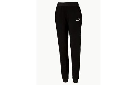 Tepláky Puma Ess No.1 Sweat Pants Fl W Cotton Black Černá