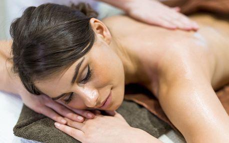 Andělská masáž s tantrickými prvky v délce 60 minut