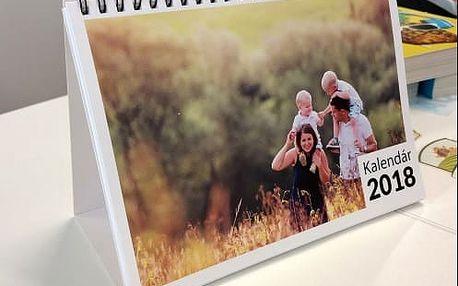 Jedinečný kalendář z Vašich fotografií. Skvělý dárek, který potěší každý den