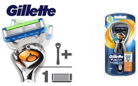 GILLETTE Fusion PROGLIDE FlexBall holící strojek + náhradní hlavice 1ks