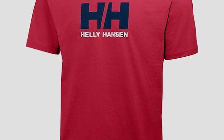 Tričko Helly Hansen LOGO T-SHIRT Červená