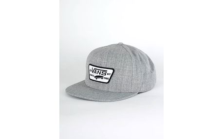 Kšiltovka Vans MN FULL PATCH SNAPBA Heather Grey Šedá