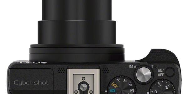 Digitální fotoaparát Sony Cyber-shot DSC-HX60 černý + DOPRAVA ZDARMA2