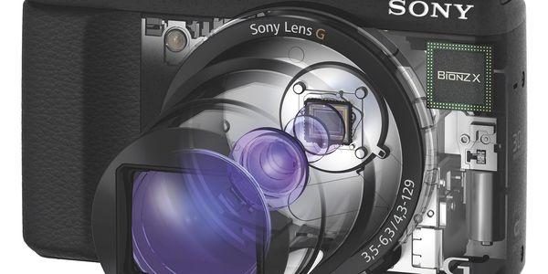 Digitální fotoaparát Sony Cyber-shot DSC-HX60 černý + DOPRAVA ZDARMA3