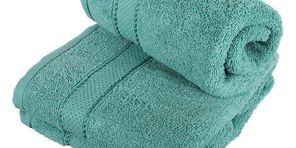Froté ručník se vzorem Menheten vínová3