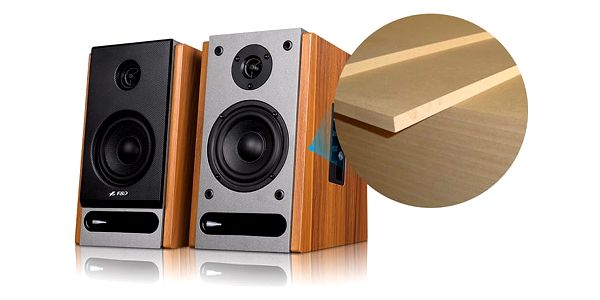 Reproduktory Fenda F&D R25BT 2.0, bluetooth, NFC (R25BT) dřevo3