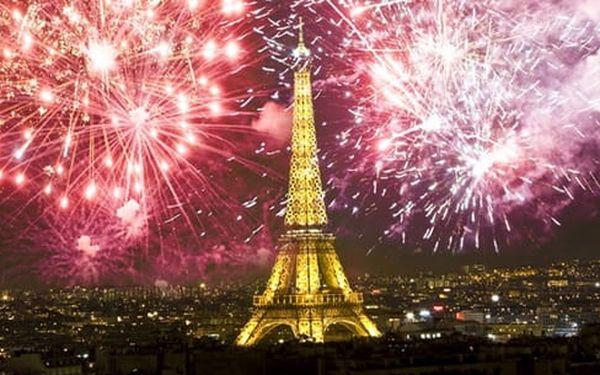 3denní výlet na silvestr v Paříži s prohlídkou města pro 1 osobu