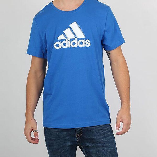 Tričko adidas Performance ADI PACK 2IN1 Modrá