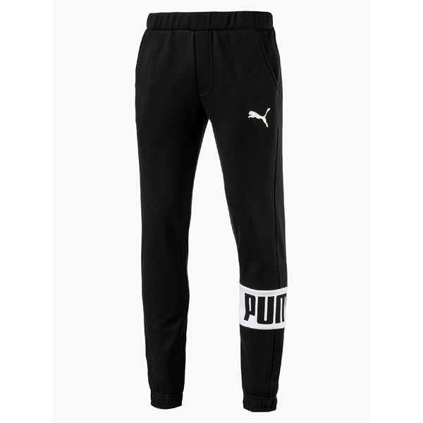 Tepláky Puma Rebel Sweat Pants FL cl Černá