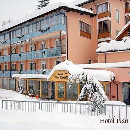 Itálie, Dolomiti Adamello Brenta, autobusem na 5 dní polopenze