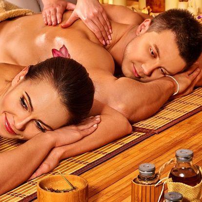 Partnerská thajská masáž ve SPA Salonu