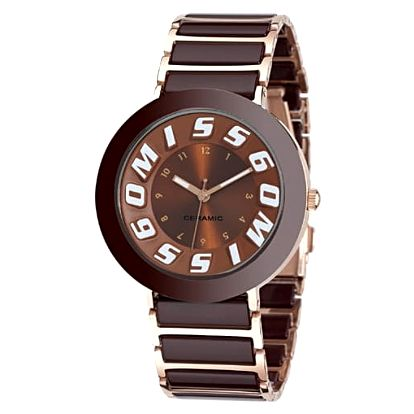 Dámské hodinky Miss Sixty IR006, hnědé