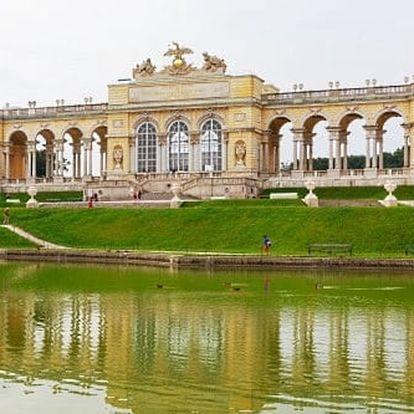 Pobyt ve Vídni v 3* hotelu kousek od paláce Schönbrunn - celoročně!
