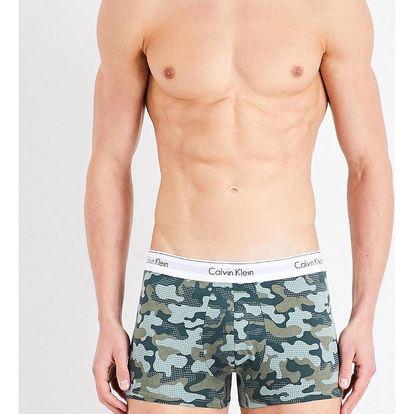 Calvin Klein maskáčové pánské boxerky Trunk