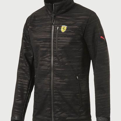 Bunda Puma Sf Softshell Jacket Black Černá