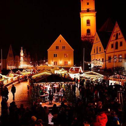 Adventní Weiden, 1denní výlet pro 1 osobu - trhy, nákupy, lázně