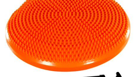 MOVIT 31955 Balanční polštář na sezení 33 cm - oranžový