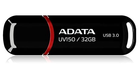 USB Flash ADATA UV150 32GB (AUV150-32G-RBK) černý