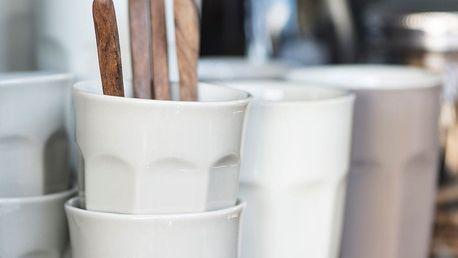 IB LAURSEN Latte hrneček Mynte latte 250 ml, béžová barva, keramika