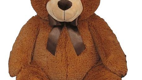 MAC TOYS Plyšový medvídek světle hnědý, 60 cm