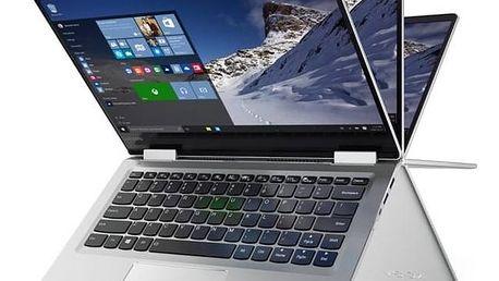 Notebook Lenovo IdeaPad YOGA 710-11IKB (80V60020CK) stříbrný Monitorovací software Pinya Guard - licence na 6 měsíců (zdarma)Software F-Secure SAFE 6 měsíců pro 3 zařízení (zdarma) + Doprava zdarma