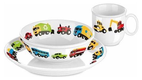 Jídelní souprava Tescoma Bambini autíčka, 3 ks (667955.00) + Doprava zdarma