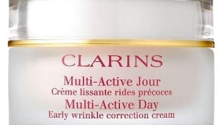 Clarins Multi Active 50 denní pleťový krém proti vráskám pro ženy