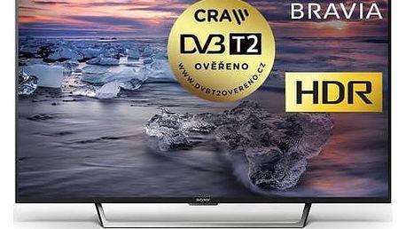 Televize Sony KDL-49WE755B černá + Doprava zdarma