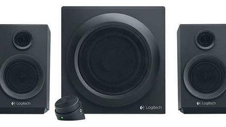 Reproduktory Logitech Z333 2.1 (980-001202) černý + Doprava zdarma