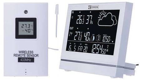 Meteorologická stanice EMOS E5005 (2606155000) bílá + Doprava zdarma
