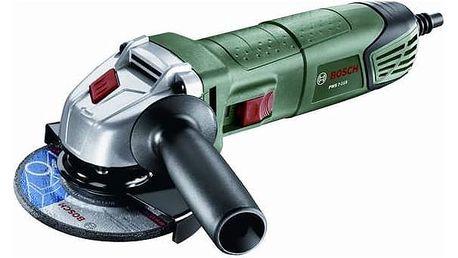 Úhlová bruska Bosch PWS 7-115 Compact Čelovka Bosch Portwest LED (zdarma)