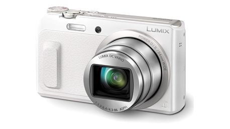 Digitální fotoaparát Panasonic DMC-TZ57EP-W bílý + DOPRAVA ZDARMA