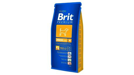 Granule Brit Premium Dog Senior M 15 kg