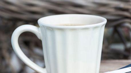 IB LAURSEN Hrneček Mynte pure white, bílá barva, keramika