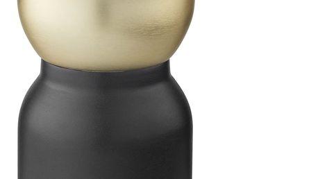 Stelton Ruční mlýnek na kávu Collar, černá barva, zlatá barva, kov