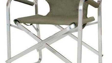 Židle Coleman DECK CHAIR - hliníkový rám černá/zelená