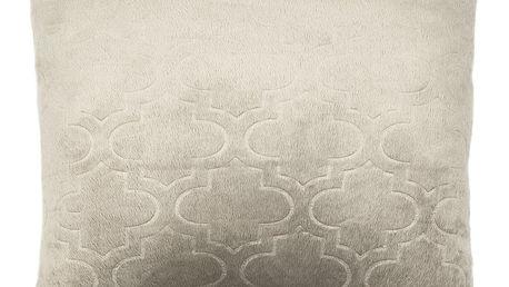 4Home Povlak na polštářek Salazar šedá, 2x 40 x 40 cm
