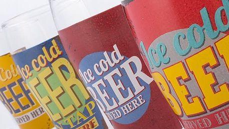 Sklenice na Pivo Ice Cold Beer