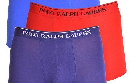 3PACK pánské boxerky Ralph Lauren barevné M