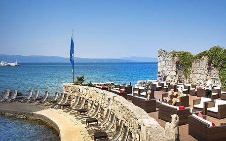 Hotel Jadran***, Moderní hotel s polopenzí blízko pláže oceněné modrou vlajkou