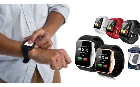 Smartwatch - chytré hodinky kompletně v češtině