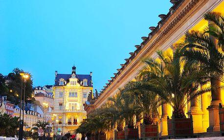 Karlovy Vary ve 4* hotelu s polopenzí, wellness balíčkem a vstupem do lázní