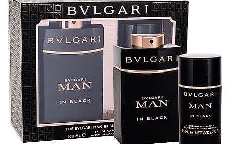 Bvlgari Man In Black EDP dárková sada M - EDP 100 ml + deostick 75 ml