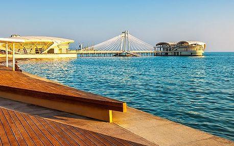 Hotel Villa Belvedere****, Skvělé ubytování s bazénem přímo u pláže v historickém Drači